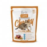 Brit Care Cat Cheeky (400 г) сухой корм с олениной и рисом для взрослых кошек всех пород, живущих на улице