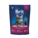 Brit Premium Cat Adult Chicken (800 г) сухой корм с курицей для взрослых кошек всех пород