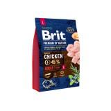 Brit Premium Adult L (3 кг) cухой корм  для взрослых собак крупных пород