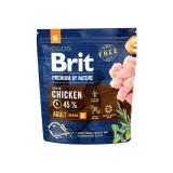 Brit Premium Adult M (1 кг) cухой корм для взрослых собак средних пород