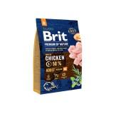 Brit Premium Adult M (3 кг) cухой корм для взрослых собак средних пород