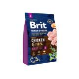 Brit Premium Adult S (3 кг) cухой корм для взрослых собак маленьких пород
