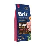 Brit Premium Junior L (15 кг) cухой корм для щенков и юниоров крупных пород