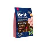Brit Premium Junior L (3 кг) cухой корм для щенков и юниоров крупных пород