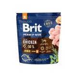 Brit Premium Junior M (1 кг) cухой корм для щенков и юниоров средних пород