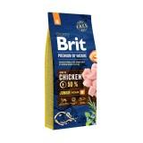 Brit Premium Junior M (15 кг) cухой корм для щенков и юниоров средних пород