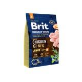 Brit Premium Junior M (3 кг) cухой корм для щенков и юниоров средних пород