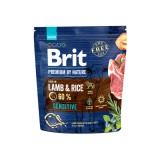 Brit Premium Sensitive Lamb & Rice (1 кг) cухой корм для собак с чувствительным пищеварением