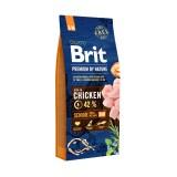 Brit Premium Senior S+M (8 кг) cухой корм для стареющих собак мелких и средних пород