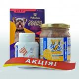 Compliment Акционный набор для собак (капли от паразитов, витамины и мясные деликатесы) для собак до 4 кг