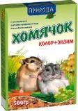 """Природа Корм """"Хомячок Колор+энзим""""  0,5 кг"""