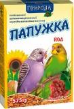 """Природа Корм """"Папужка Йод""""  575г"""