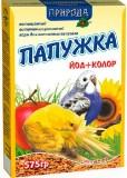 "Природа Корм ""Папужка Йод+Колор""  575г"