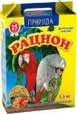 """Природа Корм """"Рацион для  крупных попугаев"""" 1,5 кг"""