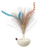 """Trixie Игрушка д/кош. """"Feather Wobble"""" неваляшка с перьями 5*14см"""