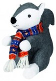 Trixie Белка с шарфом плюш.+ткань 20см