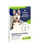 Средства от блох и др паразитов для собак - Palladium Ultra Protect КАПЛИ НА ХОЛКУ ULTRA PROTECT ОТ БЛОХ И КЛЕЩЕЙ ДЛЯ СОБАК ВЕСОМ 10-25 КГ