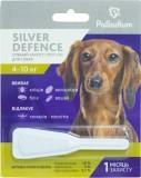 Средства от блох и др паразитов для собак - Palladium Silver Defence КАПЛИ НА ХОЛКУ SILVER DEFENCE ОТ БЛОХ, КЛЕЩЕЙ И КОМАРОВ ДЛЯ СОБАК ВЕСОМ 4-10 КГ
