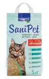 Природа Наполнитель бентонитовый SANI PET для кошек крупный (5 кг)
