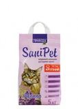 Природа Наполнитель бентонитовый SANI PET для кошек с лавандой крупный (5 кг)