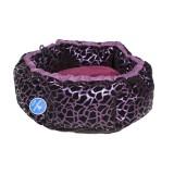Compliment Лежак для собак РЕЛАКС (размер: 55х55х26 см) фиолетовый