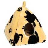 Compliment Домик для кошек ЛАПКИ-ЦАРАПКИ (размер: 44х40х38 см)