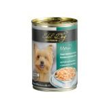 Edel Dog влажный корм для собак ТЕЛЯТИНА И КРОЛИК (0,4 кг) консерва