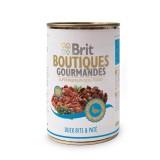Brit Care влажный корм для собак Boutiques Gourmandes кусочки утки в паштете (400 г)