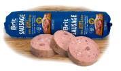 Brit Premium Колбаса для активных собак с говядиной и рыбой Dog Sausage SPORT (800 г) влажный корм
