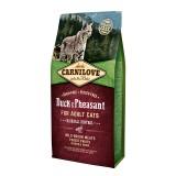 Carnilove Сухой корм для кошек для выведения комков шерсти Duck & Pheasant Hairball Control (6 кг) с уткой и фазаном