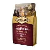 Carnilove Сухой корм для взрослых стерилизованных кошек Lamb & Wild Boar - Sterilised (2 кг) с ягненком и мясом дикого кабана