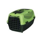 Trixie Переноска для собак Capri 2 (размер XS-S: 37х34х55 см, до 8 кг) темно-зеленый / светло-зеленый