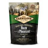 Carnilove Сухой корм для взрослых собак всех пород Adult Duck & Pheasant (1,5 кг) с уткой и фазаном