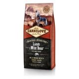Carnilove Сухой корм для взрослых собак всех пород Adult Lamb & WildBoar (12 кг) с ягненком и диким кабаном