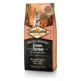 Carnilove Сухой корм для щенков крупных пород и молодых собак Puppy Large Salmon & Turkey (12 кг) с лососем и индейкой