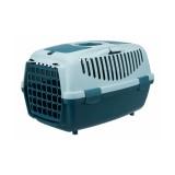 Trixie Переноска для собак Capri 2 (размер XS-S: 37х34х55 см, до 8 кг) сине-зеленый / светло-бирюзовый
