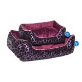 Compliment Лежак-диван для собак КОМФОРТ (разм. 50х35х13 см) фиолетовый