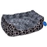 Compliment Лежак-диван для собак ЛОГОВО (размер: 70х50х18 см) серый