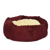 Compliment Лежак для собак ГИГАНТСКОЕ ГНЕЗДО (размер: 56х56х21 см) вишня