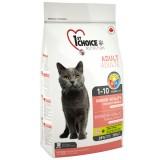 1st Choice Сухой корм для взрослых кошек всех пород Indoor Vitality Adult с курицей (2,72 кг)