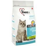 1st Choice Сухой корм для взрослых котов для здоровой кожи и блестящей шерсти Healthy Skin&Coat Adult с лососем (2,72 кг)