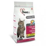 Сухой корм для кошек - 1st Choice Сухой корм для кастрированных котов и стерилизованных кошек Sterilized Chicken с курицей (2,4 кг)