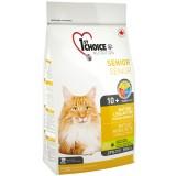 1st Choice Сухой корм для пожилых или малоактивных кошек Senior Mature Less Aktiv (2,72 кг)