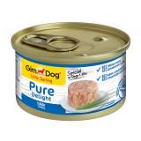 """Gimpet Влажный корм для собак """"Тунец"""" кусочки в желе Gimdog Pure Delight (85 г)"""