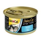 "Gimpet Влажный корм для котят ""Тунец"" кусочки в желе ShinyCat Kitten (70 г)"