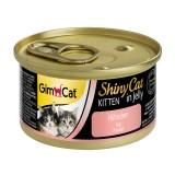 """Gimpet Влажный корм для котят """"Цыпленок"""" кусочки в желе ShinyCat Kitten (70 г)"""