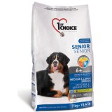 1st Choice Сухой корм для пожилых или малоактивных собак средних и крупных пород Senior (14 кг)