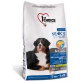 1st Choice Сухой корм для пожилых или малоактивных собак средних и крупных пород Senior (7 кг)
