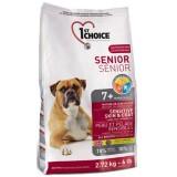 1st Choice Сухой корм для пожилых собак Senior с ягненком и океанической рыбой (12 кг)