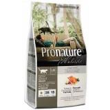Pronature Holistic Сухой корм для взрослых кошек всех пород Adult Turkey&Cranberries индейка и клюква (2,72 кг)